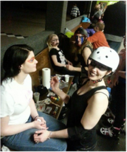 october 25 2015 halloween costume contest at the russell roller rink